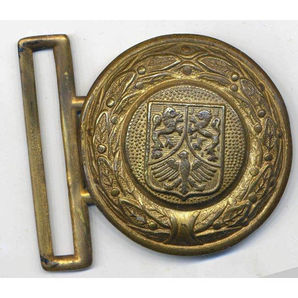 Firefighter(Feuerwehr) Hessen Officer's belt buckle