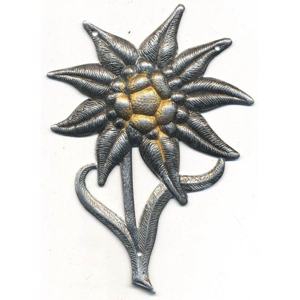 Gebirgsjäger Edelweiss cap badge