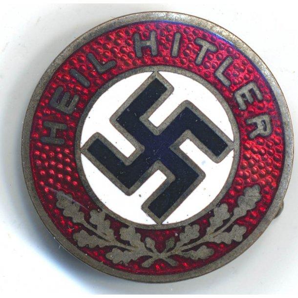 NSDAP Heil Hitler Propaganda badge