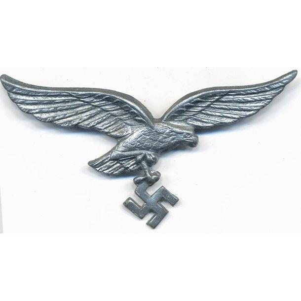 Luftwaffe EM/NCO's visor cap eagle in metal