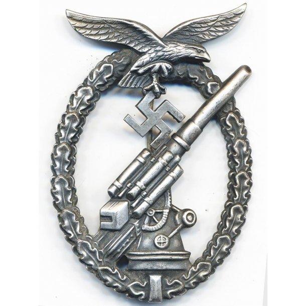 Luftwaffe Flak Artillery badge 'Ball hinge'