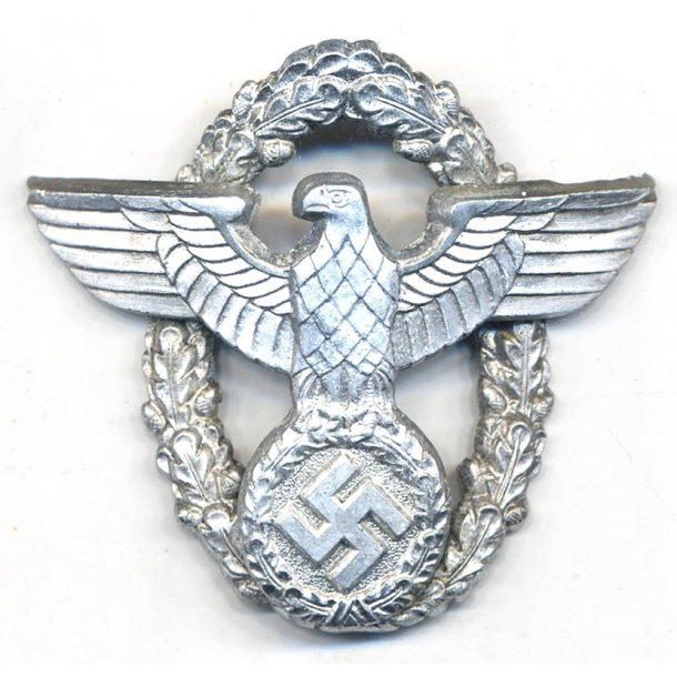 Polizei Two-Piece Officer's Cap Eagle