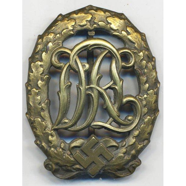 DRL sports badge in bronze 'Jena Wernstein'