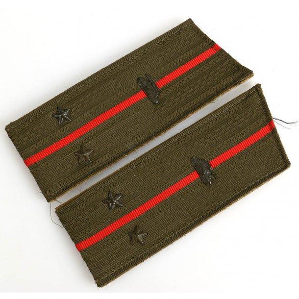 Soviet army Officer's Tank troops shoulder boards
