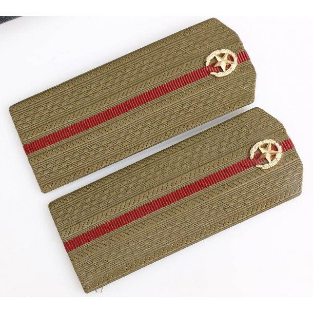 Soviet army infantry Officer's shoulder boards