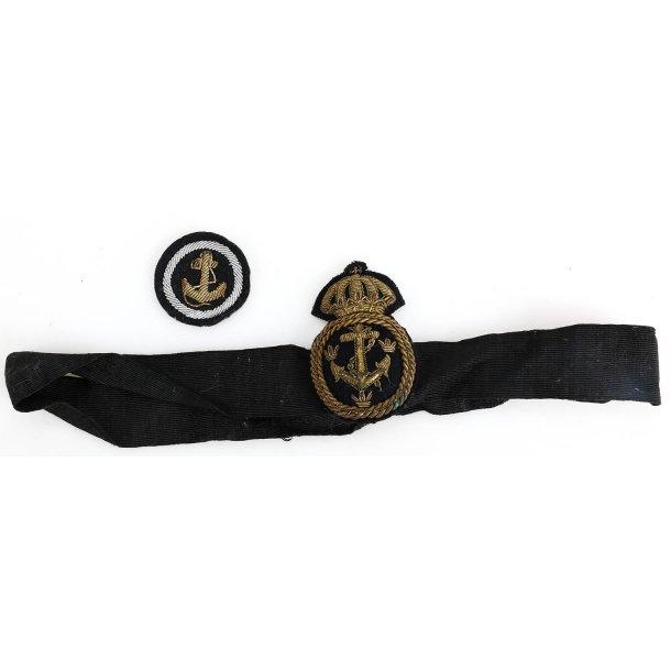 Swedish Navy Officer's cap badge
