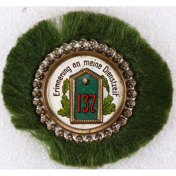 Regiment 137 commemorative badge