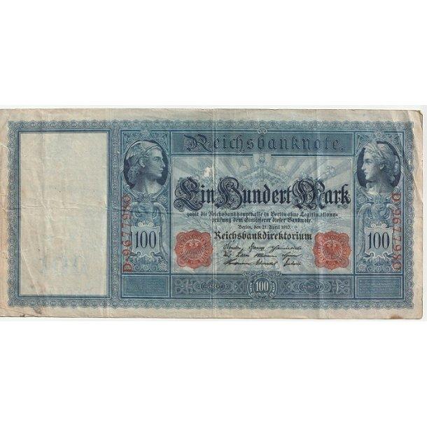 Reichsmark, 100 Mark 1910