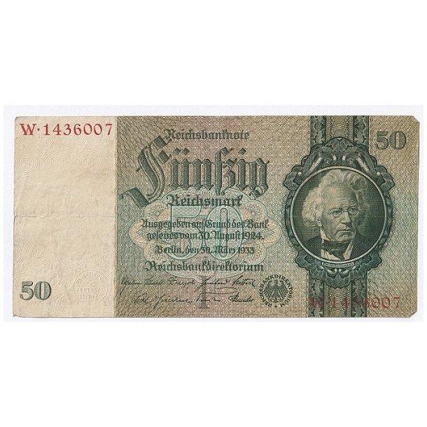 Reichsmark, 50 Mark 1933