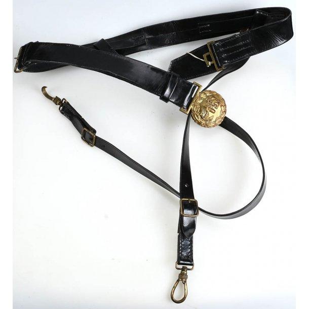 Sri Lanka Navy Officers belt with sword hangers