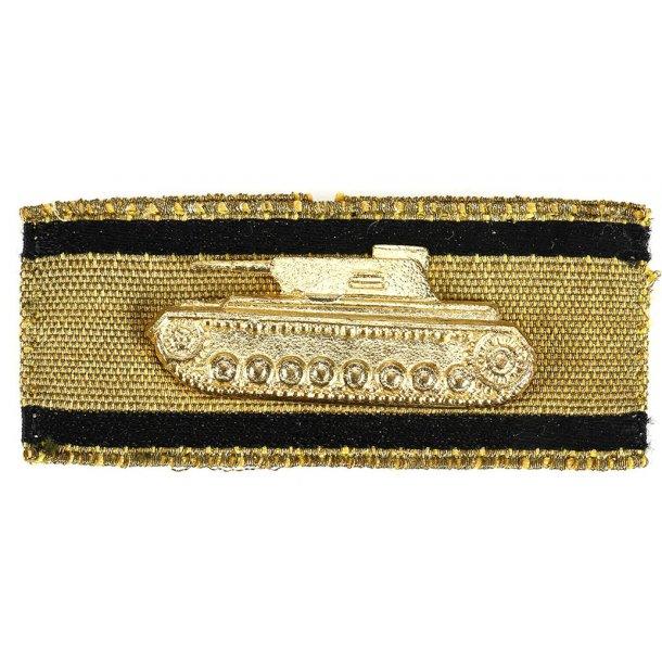 Tank Destruction Strip in gold badge 1957 'Steinhauer & Luck'