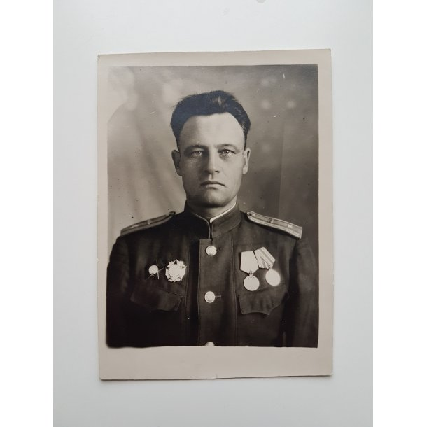 Soviet WWII portrait photo