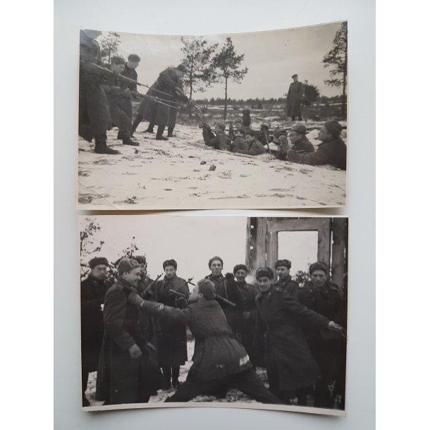 Soviet WWII Trench warfare photos