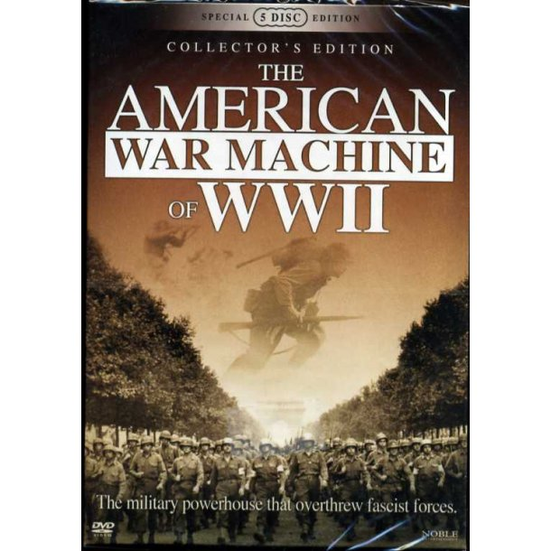 The American War Machine of WWII 5-disc edition