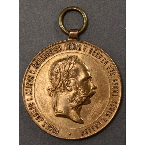 Austrian War Service Medal 1873