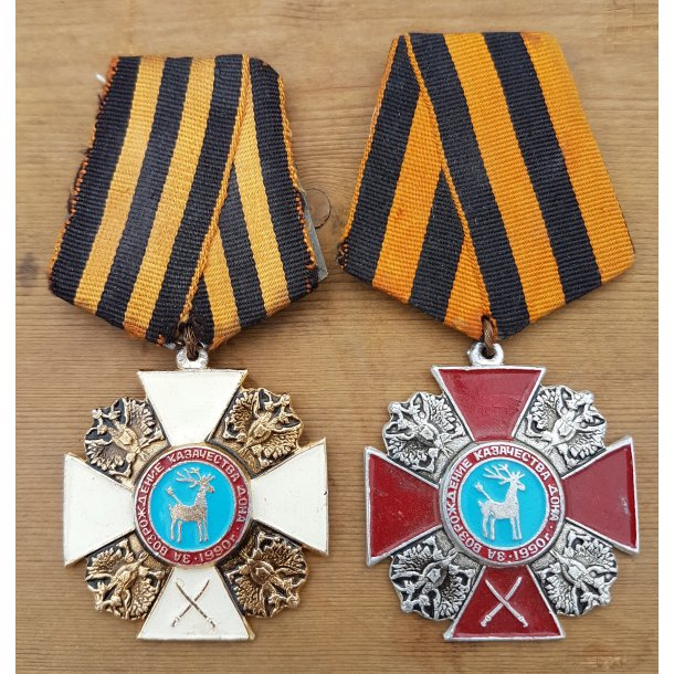 Transnistrian War Cossack medals