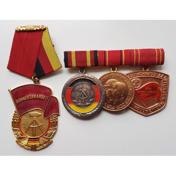 DDR, Civilian medal group