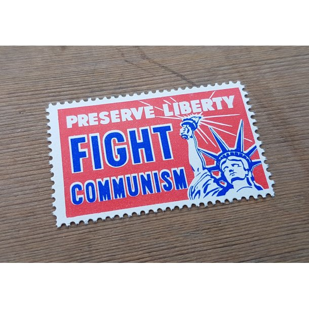 Crusade for Freedom propaganda stamp