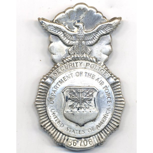 United States Air Force Security Police badge
