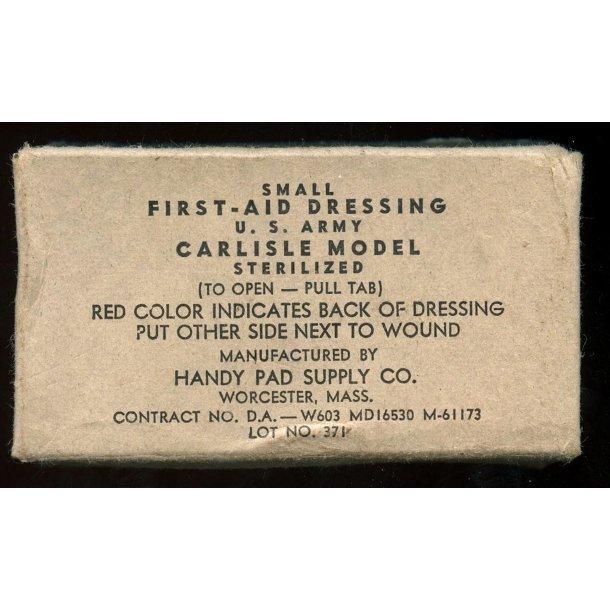 US ARMY WW2 Small first aid dressing