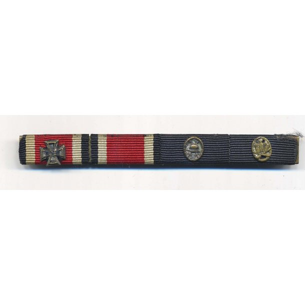 4- place Ribbon bar 1957 issue