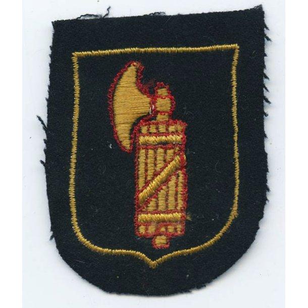 Waffen-SS Italian volunteer's sleeve shield