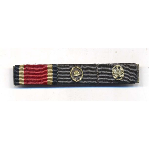 3- place Ribbon bar 1957 issue