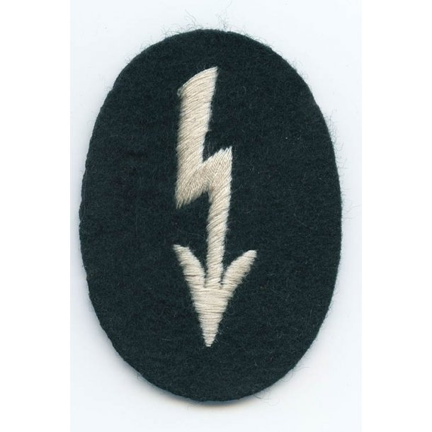 Army infantry signal's sleeve badge