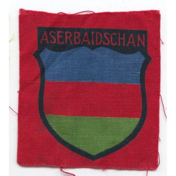 Army Aserbaidschan volunteer's sleeve shield